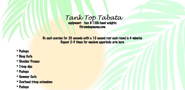 Tank Top Tabata